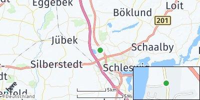 Google Map of Lürschau