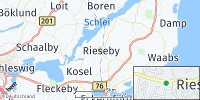 Google Map of Rieseby