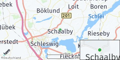 Google Map of Schaalby