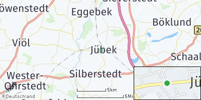 Google Map of Jübek