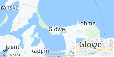 Google Map of Glowe