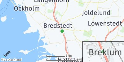 Google Map of Breklum