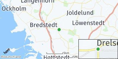 Google Map of Drelsdorf