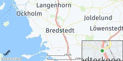Google Map of Bredstedt