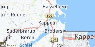 Google Map of Kappeln