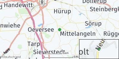 Google Map of Großsolt