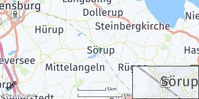 Google Map of Sörup