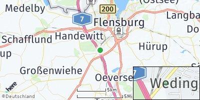 Google Map of Jarplund-Weding