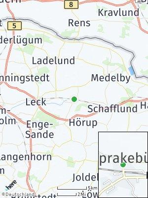Here Map of Sprakebüll