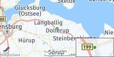 Google Map of Dollerup
