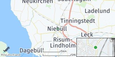 Google Map of Niebüll