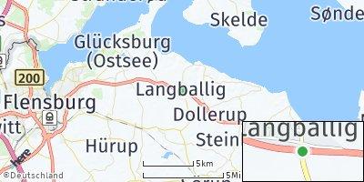 Google Map of Langballig