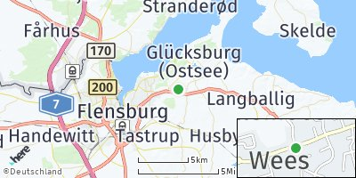 Google Map of Wees