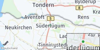 Google Map of Süderlügum