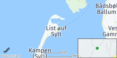 Google Map of List