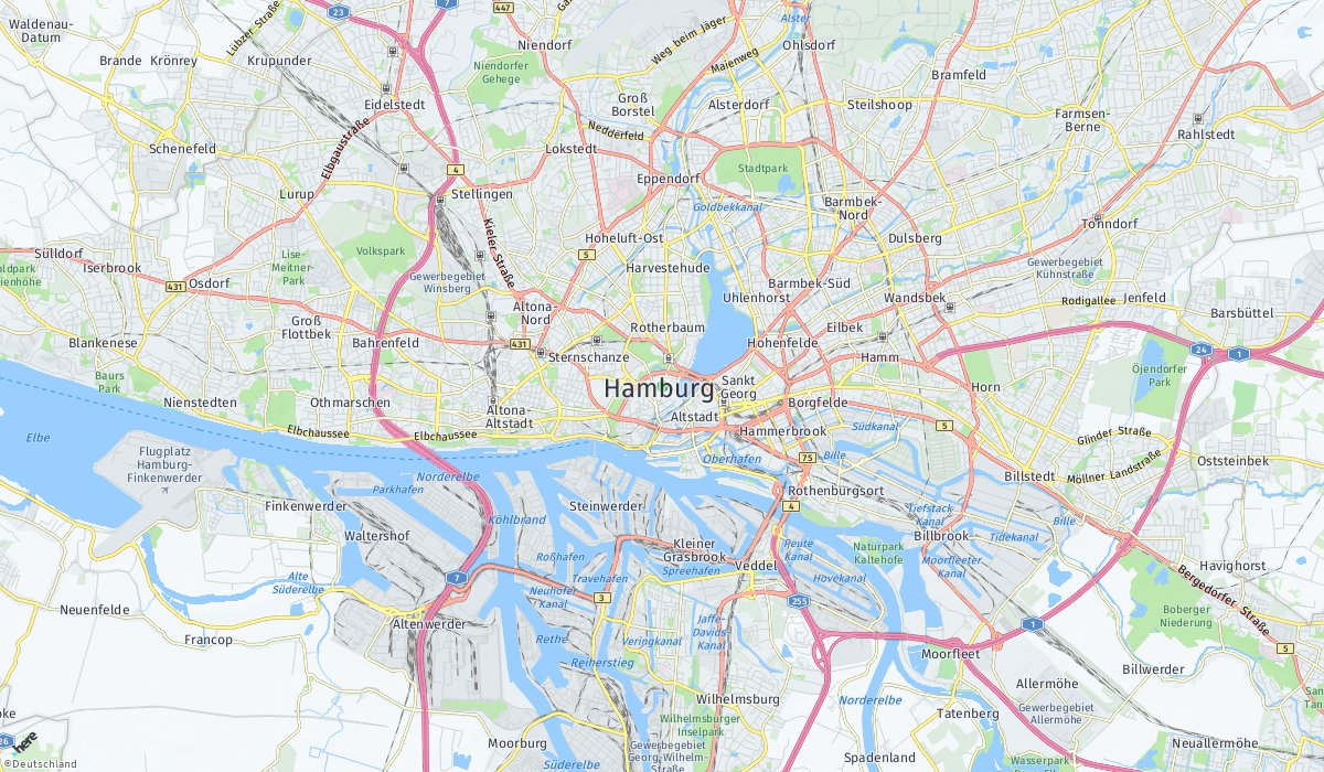 Hamburg HERE Maps